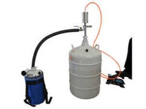 Liquid Nitrogen Transfer Device & Foot Pump